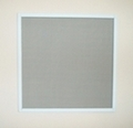White Alu Frame Pet Safety Window Fly Screen 90cm x 120cm