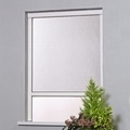 Roll Up Roll Down Window Fly Screen White 125 x 160