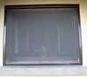 Roll Up Roll Down Window Fly Screen Brown 100 x 170
