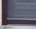Roll Up Roll Down Window Fly Screen Brown 140 x 170