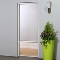 Pull Down Roller Blind Door Fly Screen 125 x 230