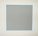 White Aluminium Frame Pet Safety Window Fly Screen